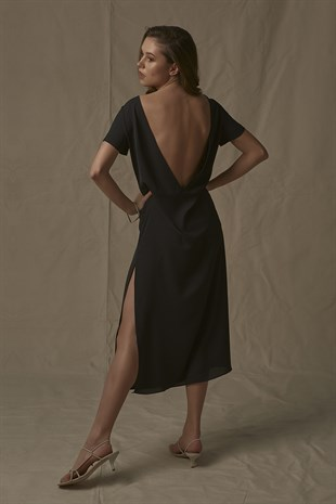 Milena Dress in Black