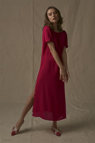 Milena Dress in Red
